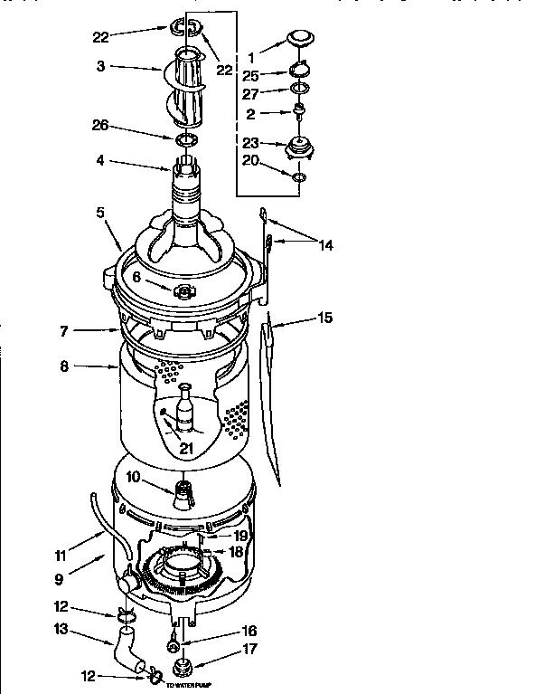 washing machine schematics and wiring diagram