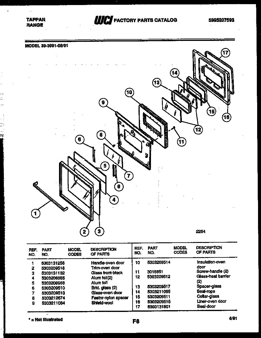 Tappan Appliances Wiring Diagram Auto Electrical 3039912303 Range Gas Timer
