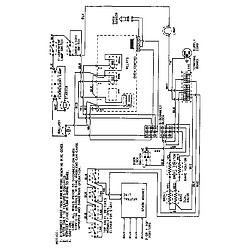 3468VVV Range Wiring information Parts diagram