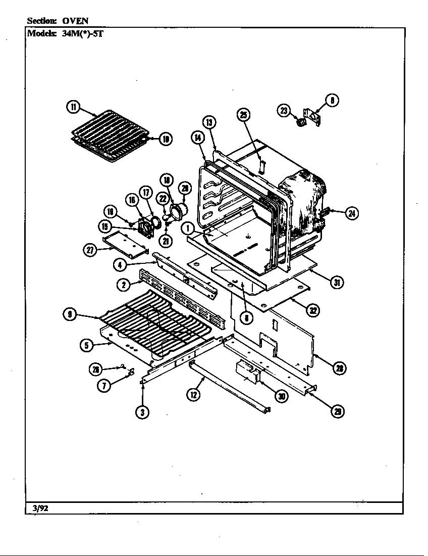 magic chef rv gas stove manual
