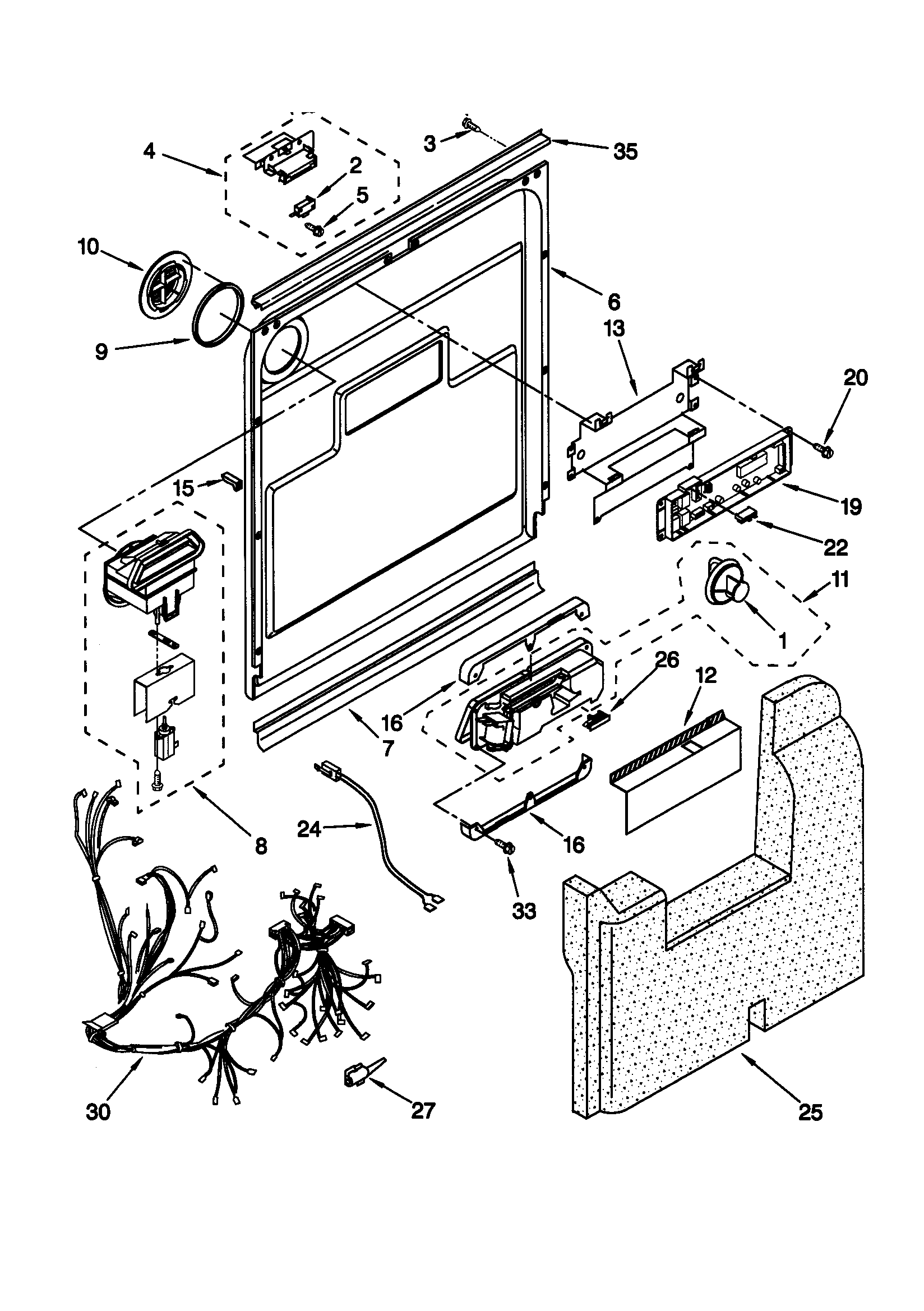 Kenmore Elite 665 Dishwasher Wiring Diagram on Kenmore Elite 665 Dishwasher Wiring Diagram