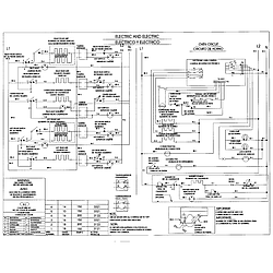 79046803992 Elite Electric Slide-In Range Wiring Parts diagram