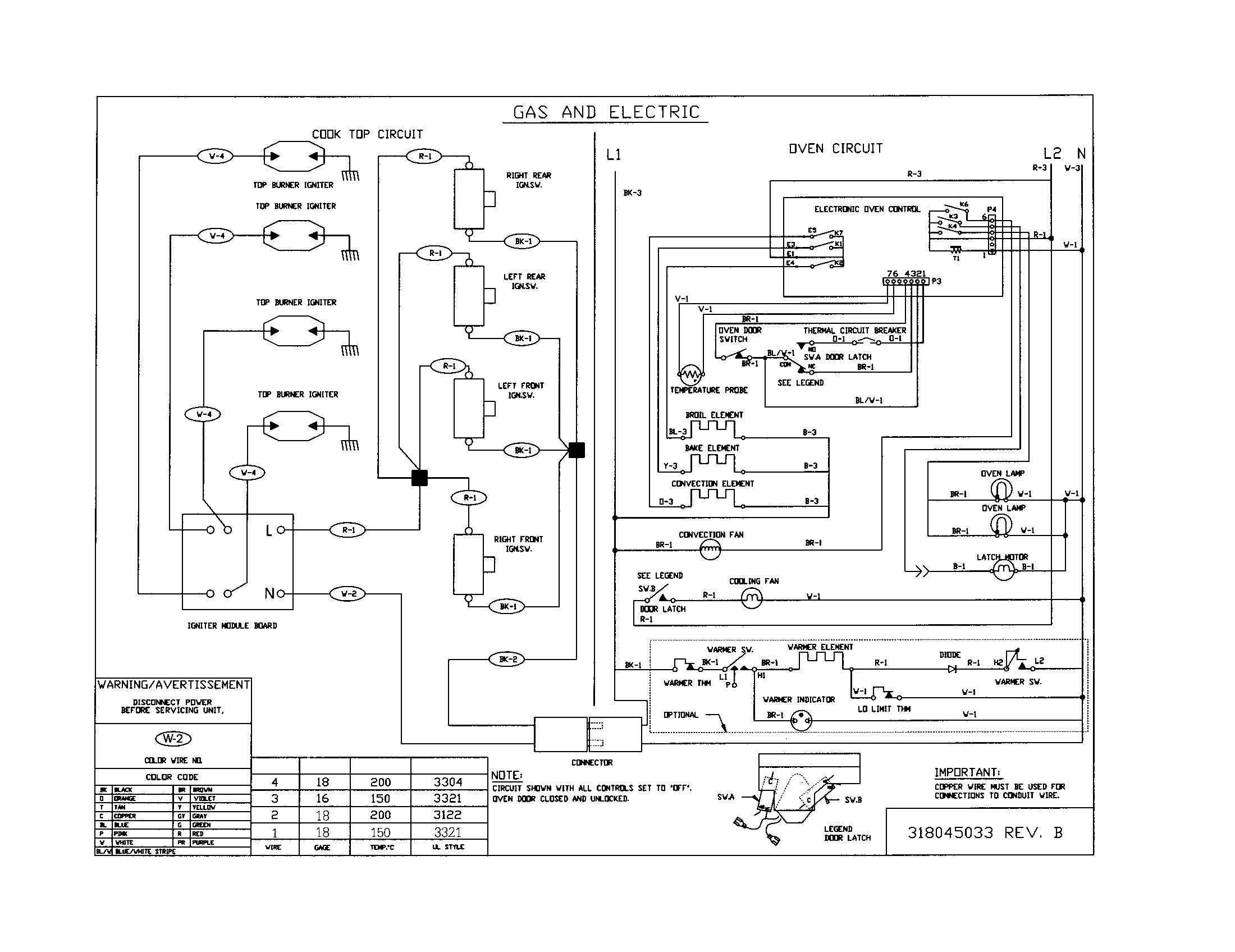 Frigidaire Dryer Wiring Schematic Data Diagrams Timer Kenmore 79046812991 Elite Dual Fuel Slide In Range Diagram