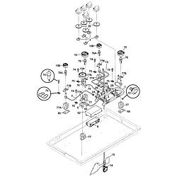 Kenmore 79074403995 Dual Fuel Range Timer Stove Clocks