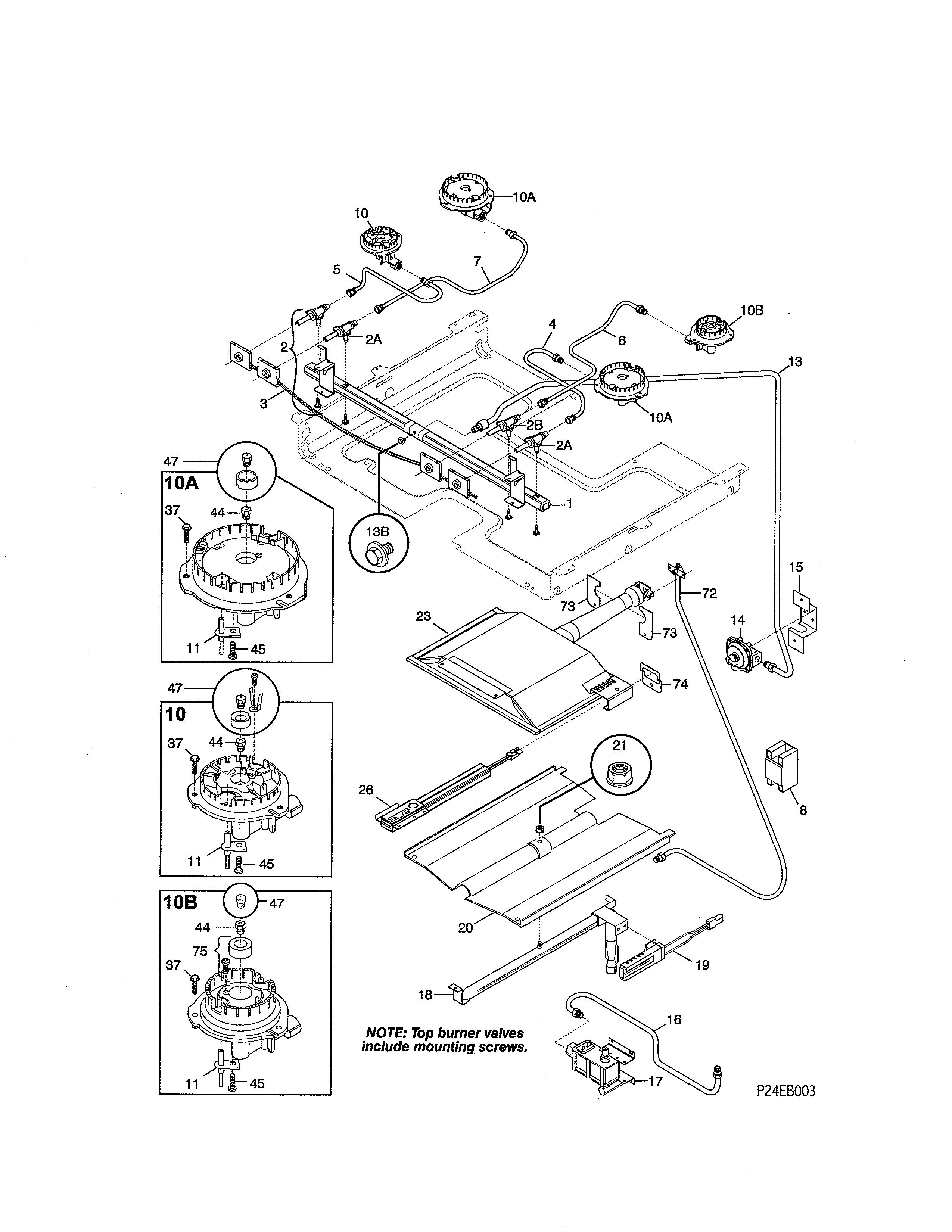 Kenmore 79075903993 Gas Range Timer