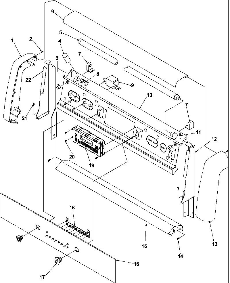 Amana Arg7800e Gas Range Timer Stove Clocks And
