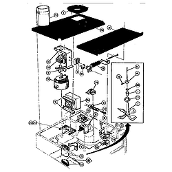 CMT21 Combination Oven Microwave components Parts diagram