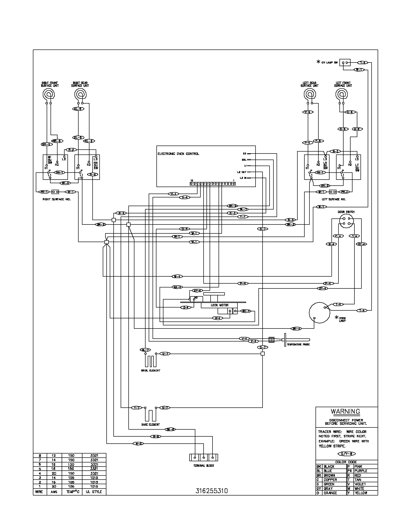 basic electrical wiring diagrams automotive frigidaire fef352asf electric range timer - stove clocks ... basic electrical wiring diagrams range