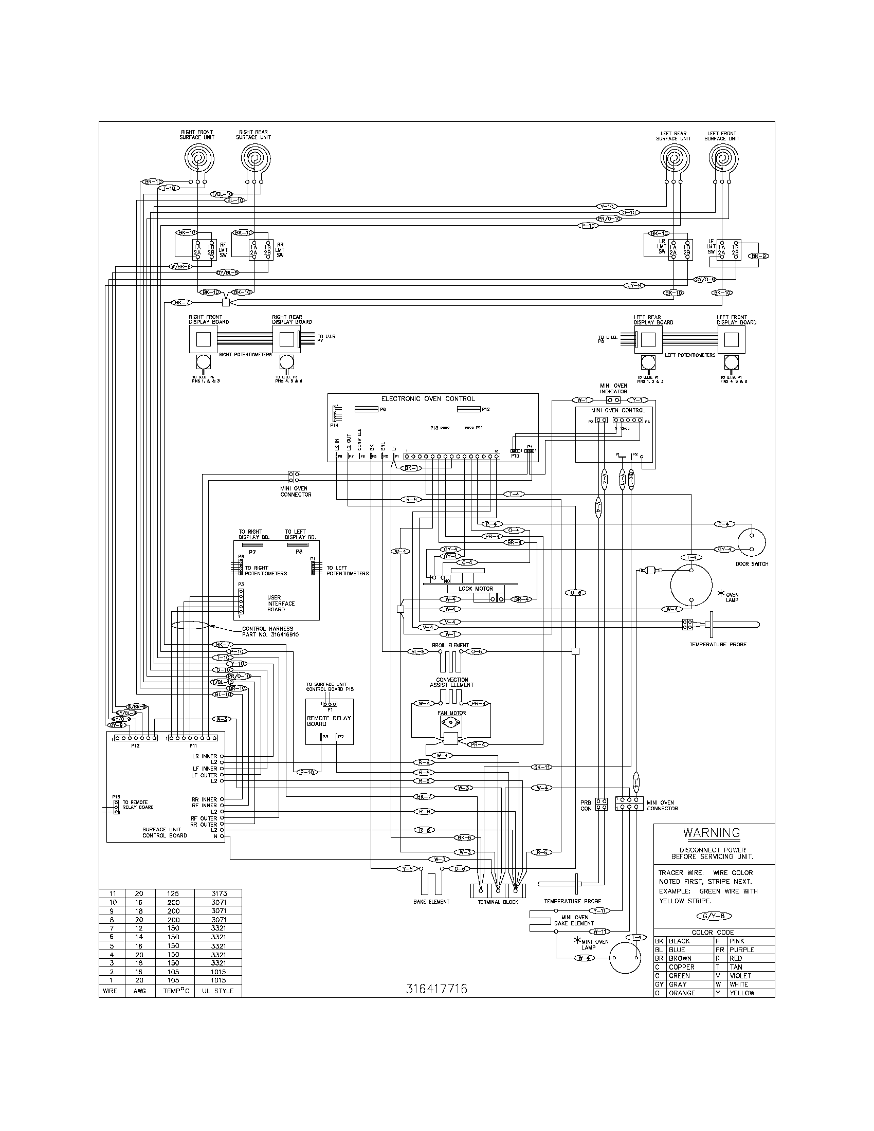 wiring diagram parts refrigerators parts frigidaire repair frigidaire refrigerator wiring schematic at gsmx.co