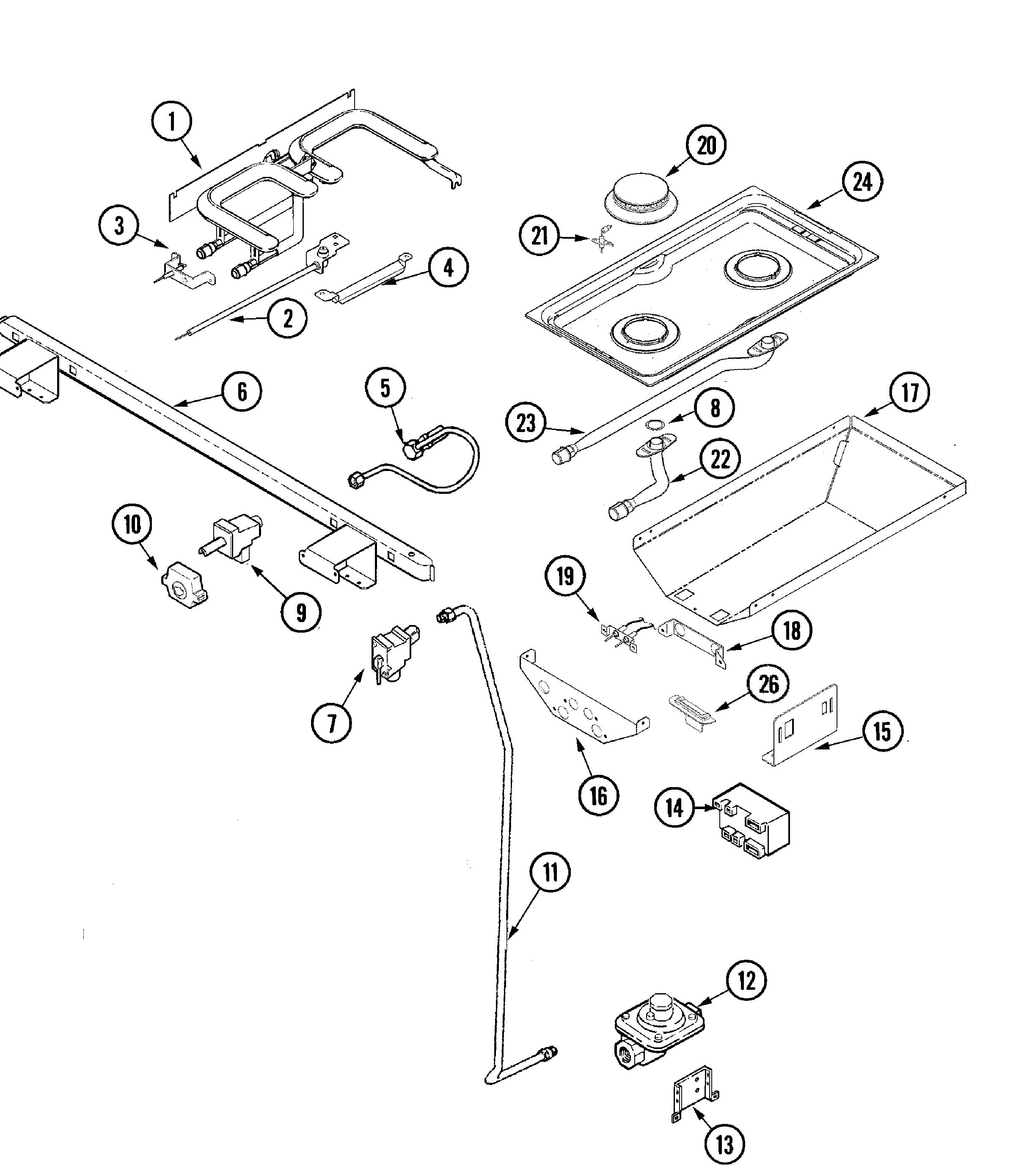 Jenn Air Jds9860aab Slide In Dual Fuel Downdraft Range