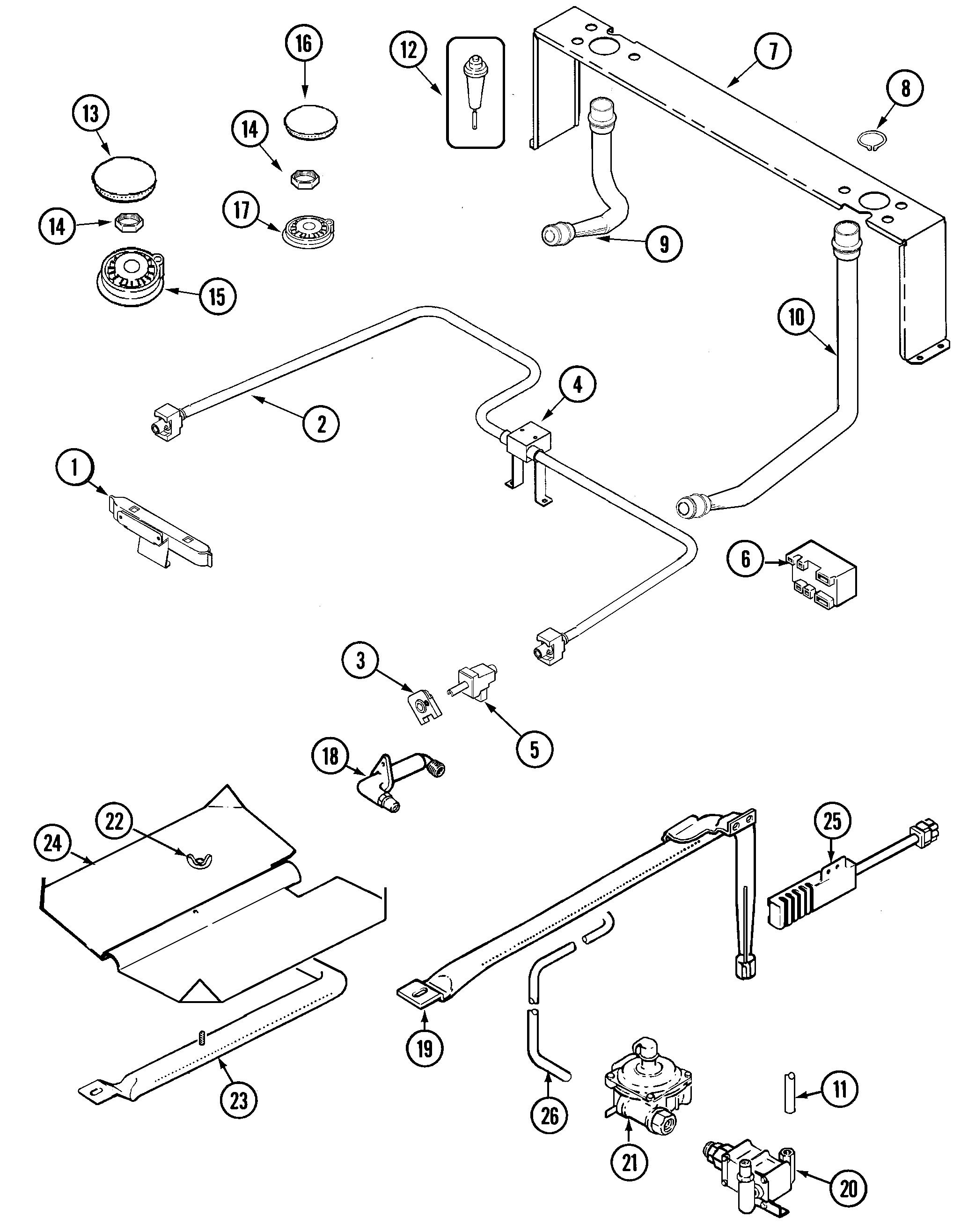 jenn-air jgs8750adb slide-in gas range timer
