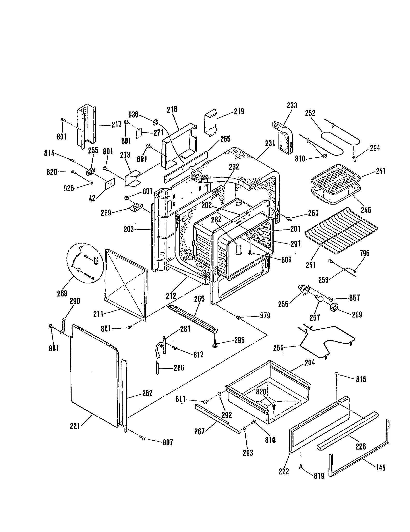 General Electric Jsp28gp Range Timer