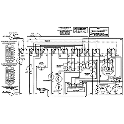 MDB6000AWA Dishwasher Wiring information Parts diagram