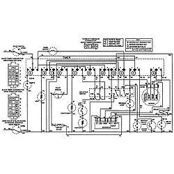 MDB6000AWA Dishwasher Wiring information Parts diagram