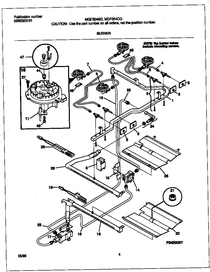 Frigidaire Range Diagram Data Wiring Diagrams Gas Stove Burner Parts Www Imgkid Com The Image Kid