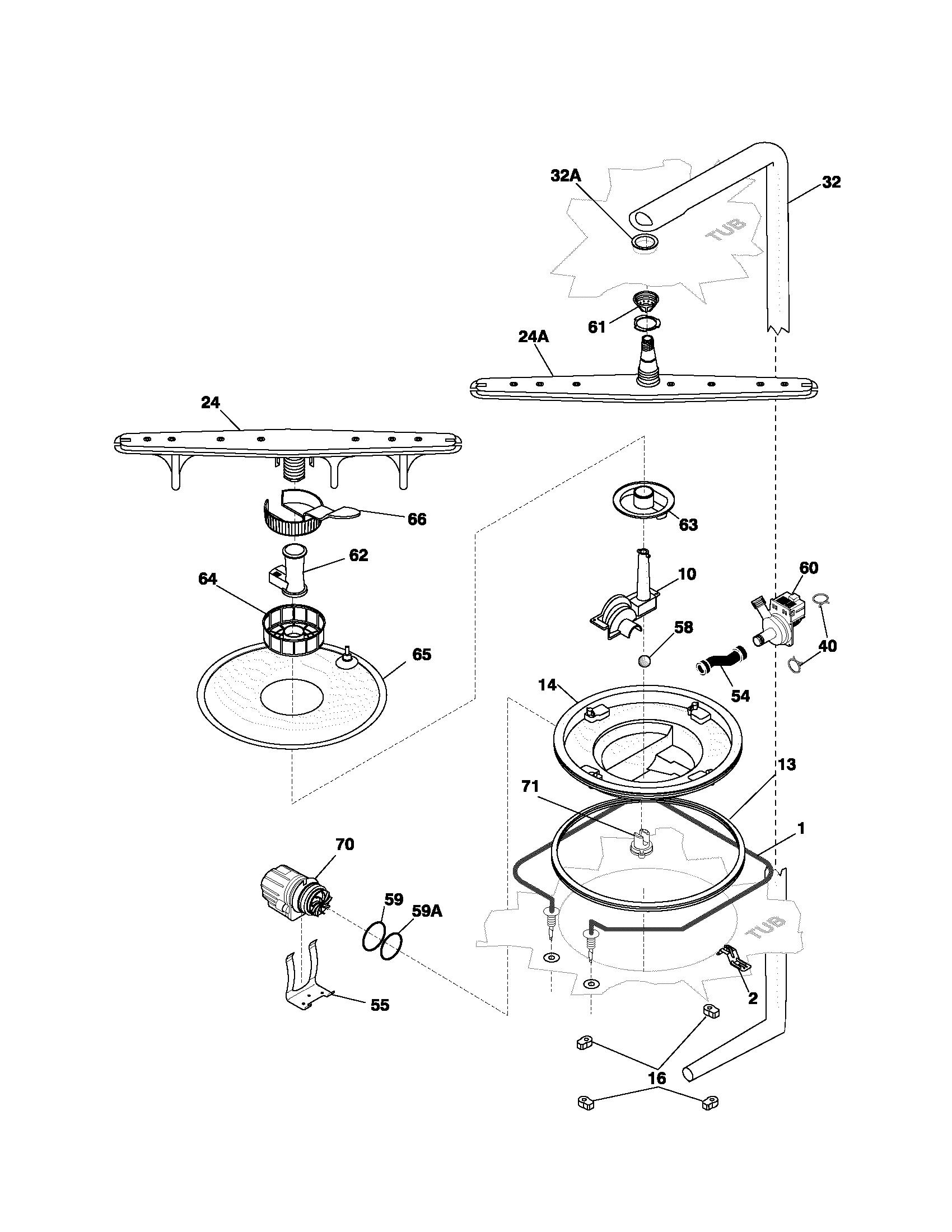 Wiring Dishwasher Code Electrical Diagram Bathroom Ontario Frigidaire Pldb998cc0 Timer Stove Clocks And Appliance Canada