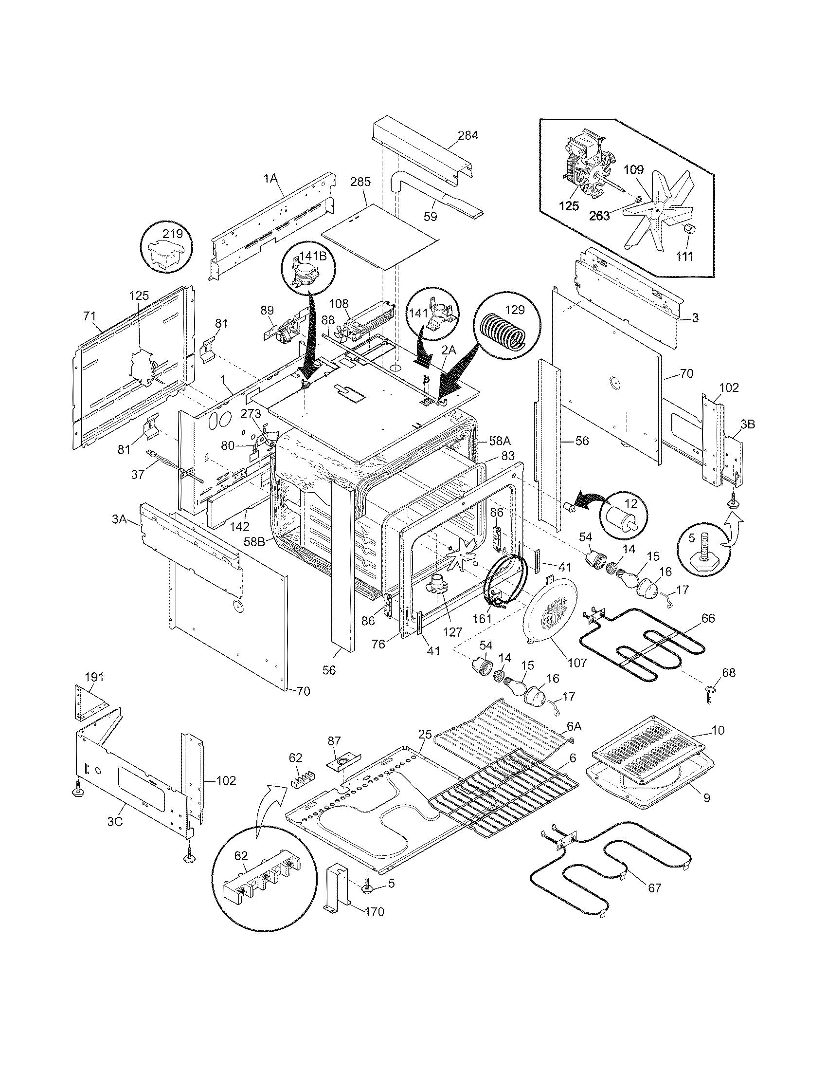 refrigerators parts  appliance parts