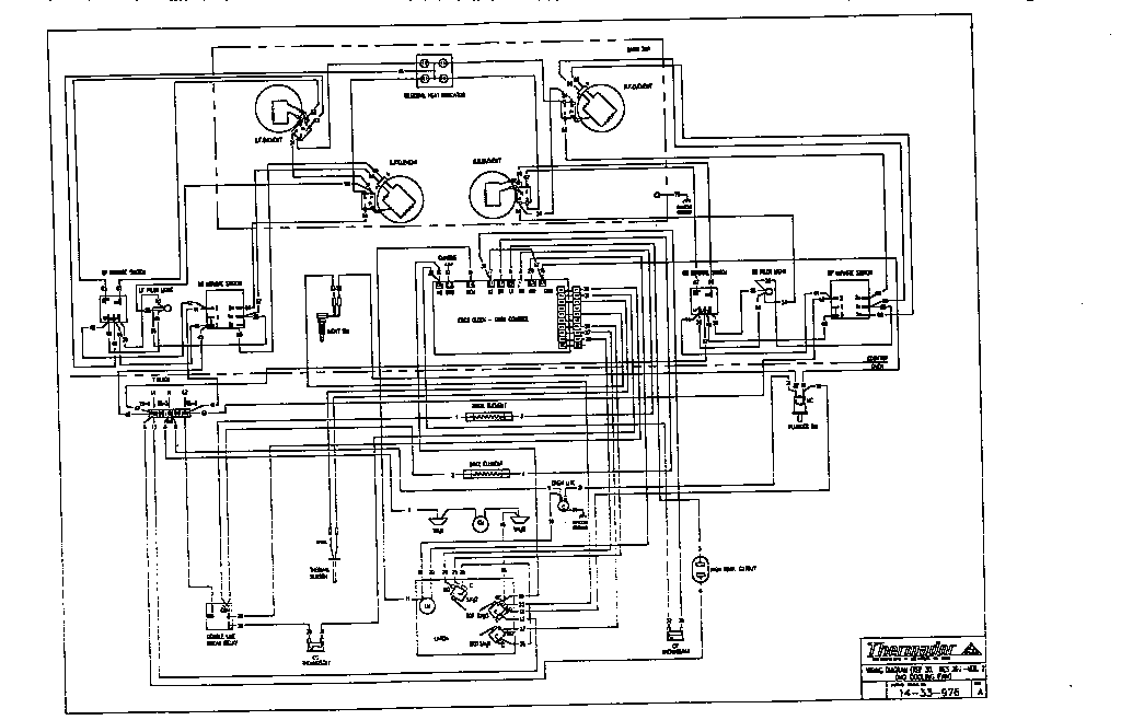 bosch dishwasher wiring diagram the appliantology gallery Bosch Dishwasher Wiring Diagram thermador ref30qw freestanding electric range timer stove clocks, wiring diagram kenmore dishwasher bosch dishwasher wiring diagram