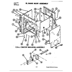 S120 Range Basic body assembly (s120-c) (s120-c) Parts diagram