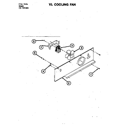 S120 Range Cooling fan (s120) (s120) Parts diagram