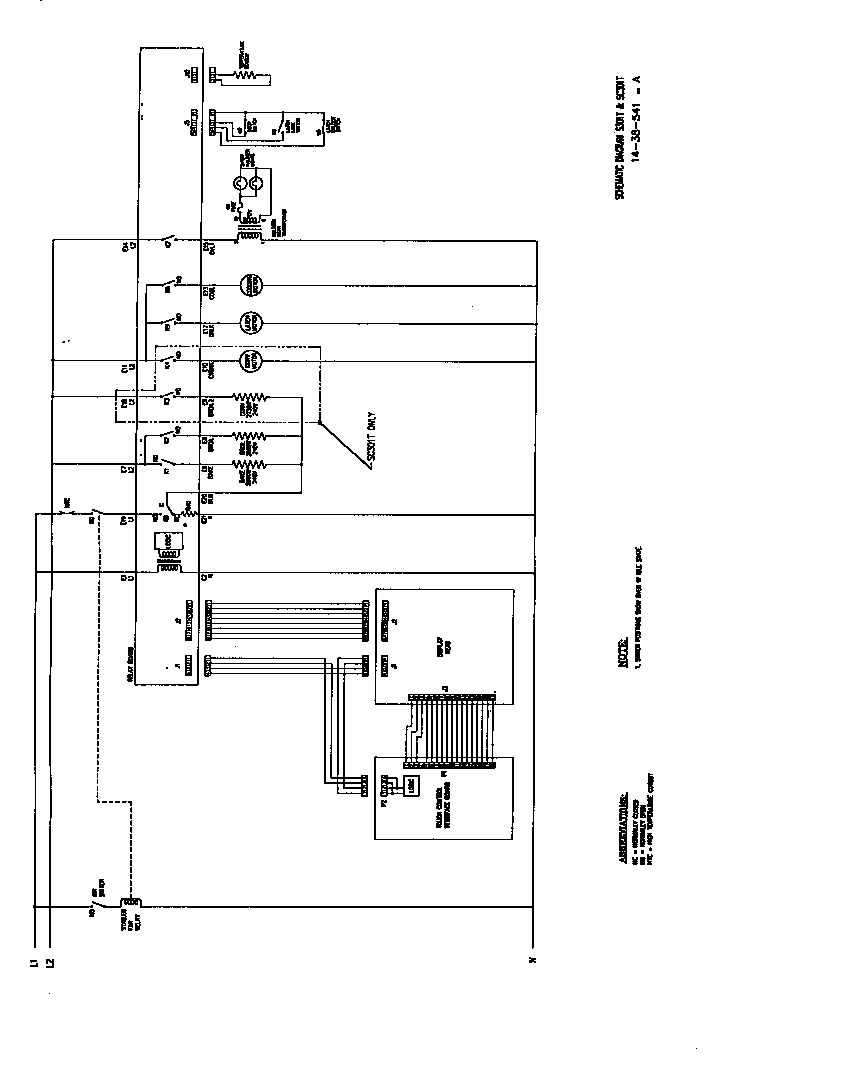Oven Schematic Wiring Diagram Wiring Diagrams Source
