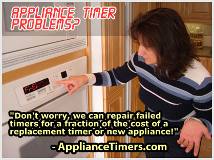 We can save you hundreds of dollars by repairing or replacing your stove clock.