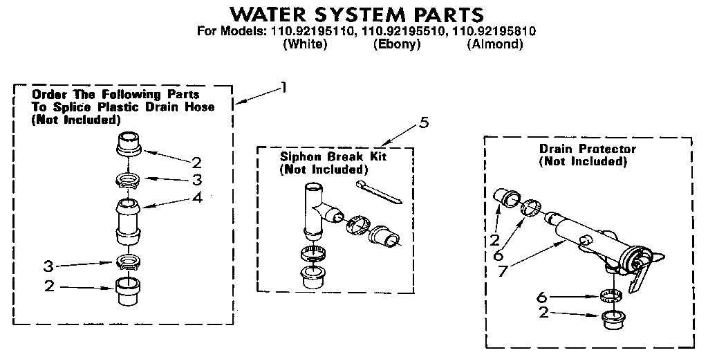 Kenmore 1109219551 automatic washer timer stove clocks and 1109219551 automatic washer water system parts diagram ccuart Gallery