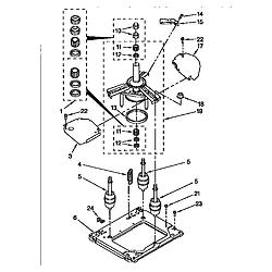 110985751 Washer/Dryer Machine base Parts diagram