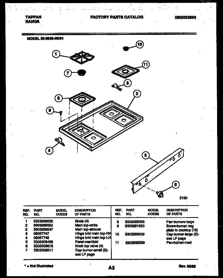 cooktop parts tappan 3038602304 range gas timer stove clocks and appliance Thermador Cooktop Wiring-Diagram at edmiracle.co