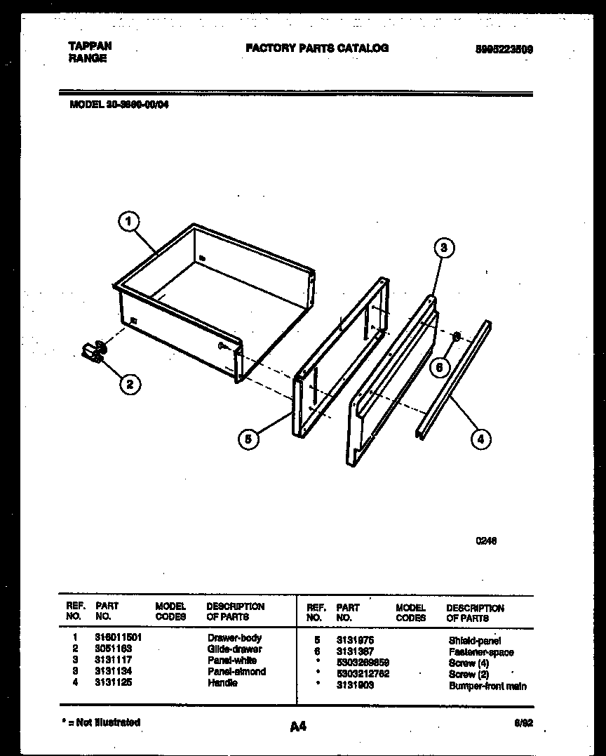 drawer parts tappan 3038602304 range gas timer stove clocks and appliance Thermador Cooktop Wiring-Diagram at edmiracle.co