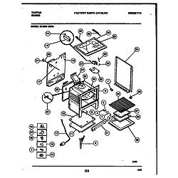 3039910003 Range - Gas Body Parts diagram