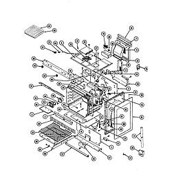 34JN3TKXW Range Body Parts diagram