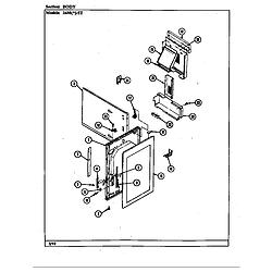 34MN5TKVW Range Body Parts diagram