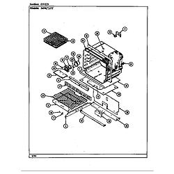 34MN5TKVW Range Oven Parts diagram