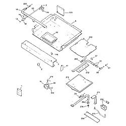 3627391592 Gas Range Burner section Parts diagram