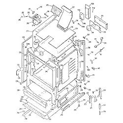 3627391592 Gas Range Cabinet Parts diagram
