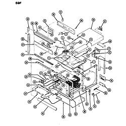 59FN5TVW Range Body Parts diagram