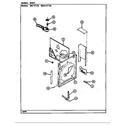 59GN5TVW Range Body Parts diagram