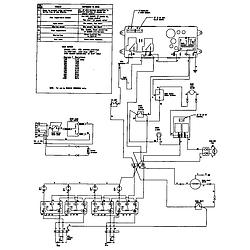 62946975 Range Wiring information Parts diagram