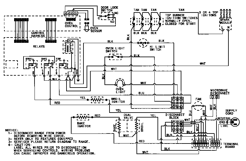 Wiring Diagrams For Electric Stoves - Wiring Diagrams Source