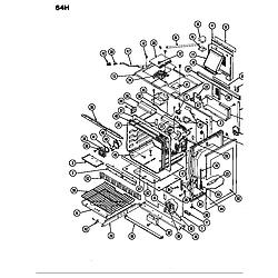 64HN4TKVWEV Range Body Parts diagram