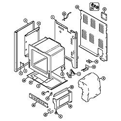 6898XRB Range Body Parts diagram