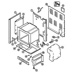 7858XVW Range Body-lower Parts diagram