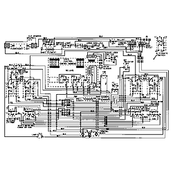 7858XVW Range Wiring information Parts diagram