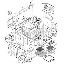 79046803991 Elite Electric Slide-In Range Body Parts diagram