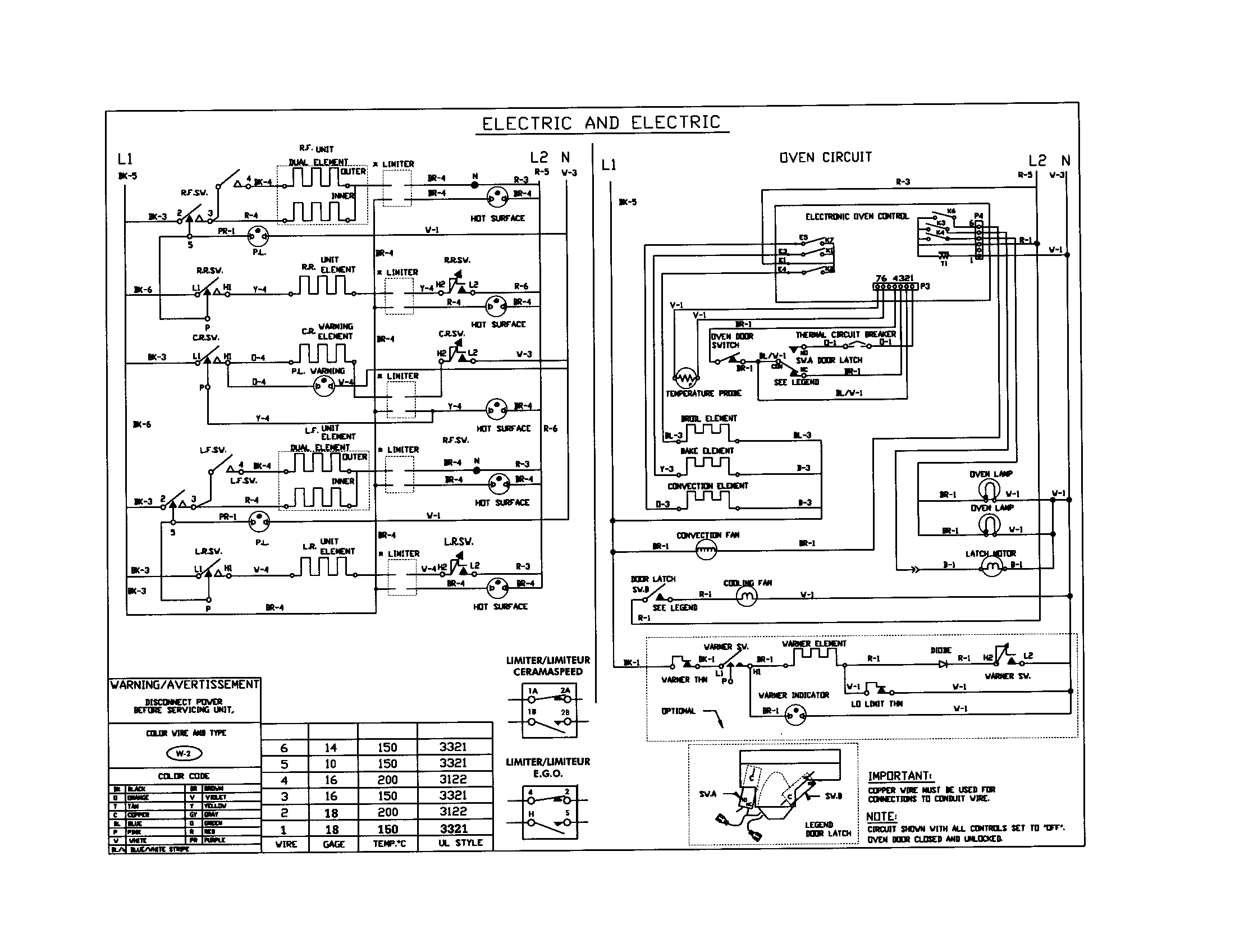 Electric Range Wiring Diagram - Search For Wiring Diagrams •