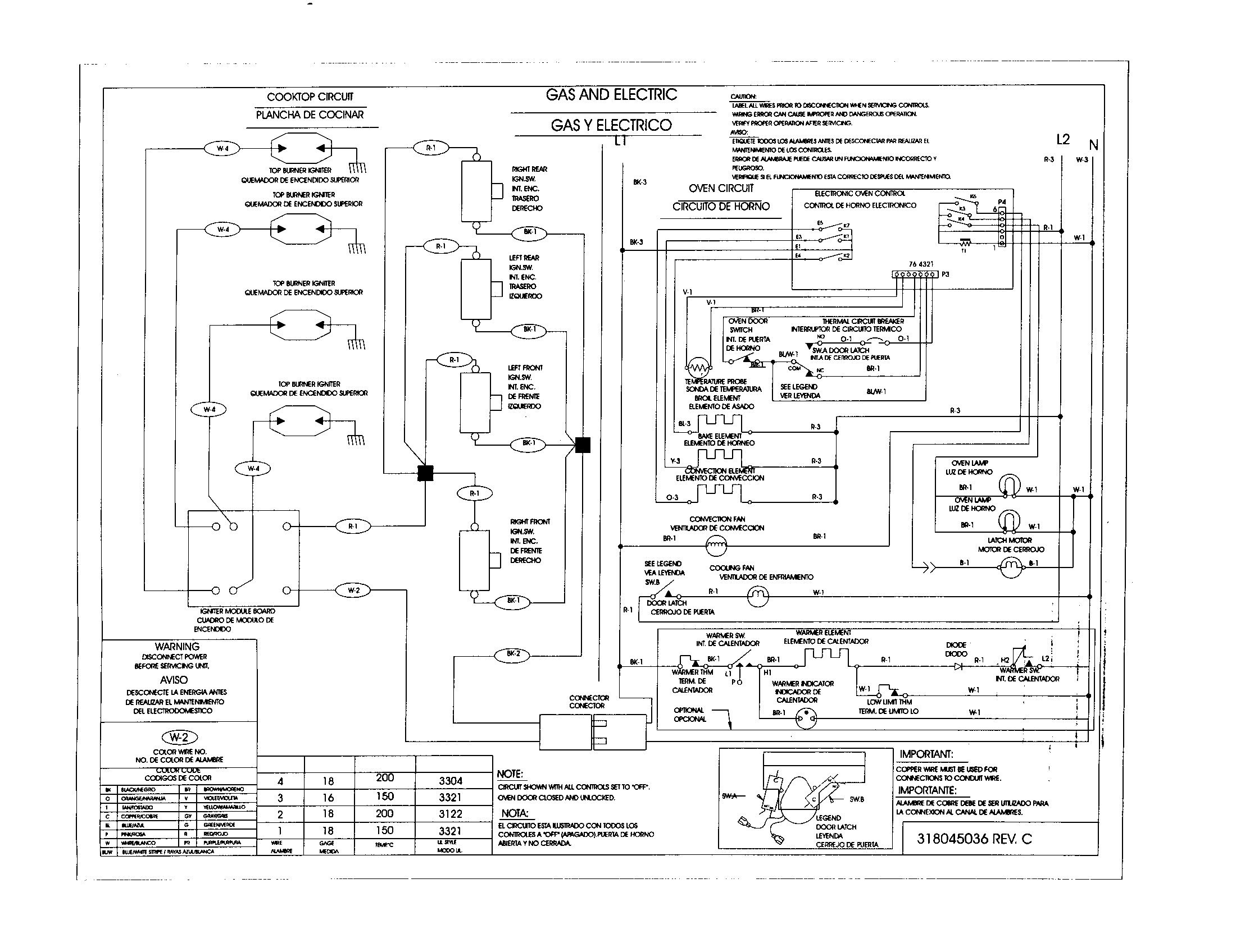 79046813992 Elite Dual Fuel Slide-In Range Wiring diagram Parts diagram