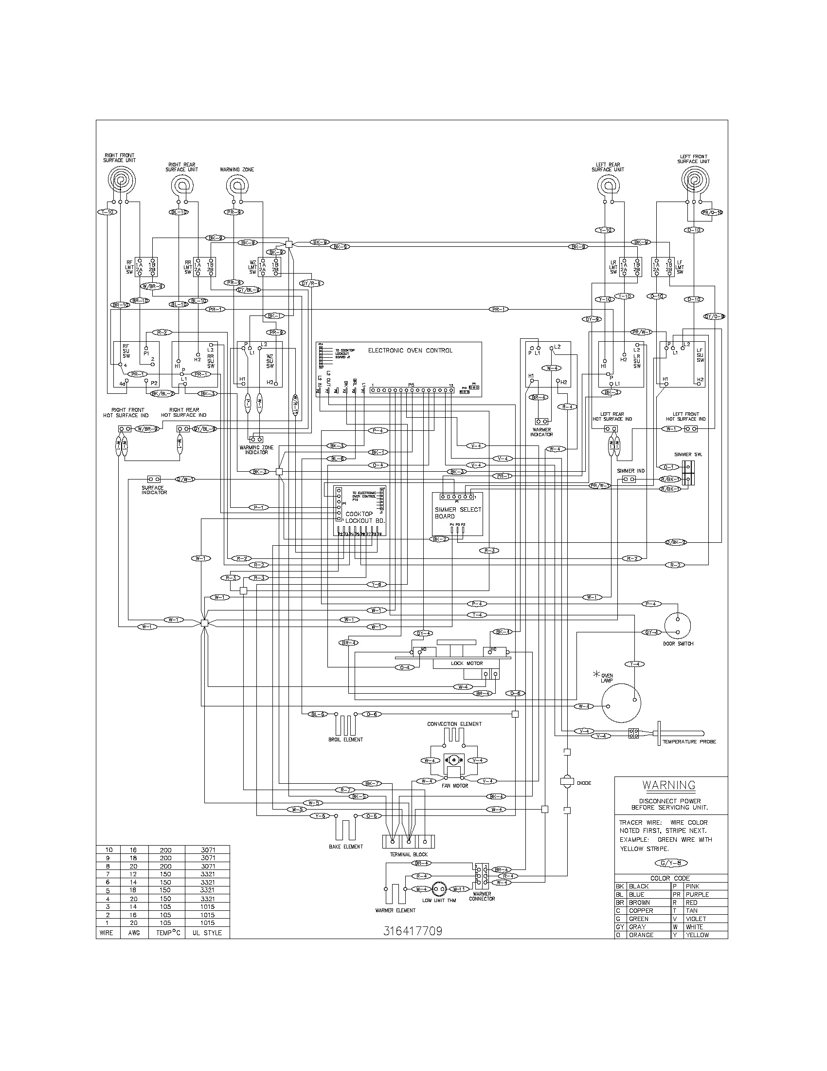 electric range wiring diagram electric range wiring diagram free download #13