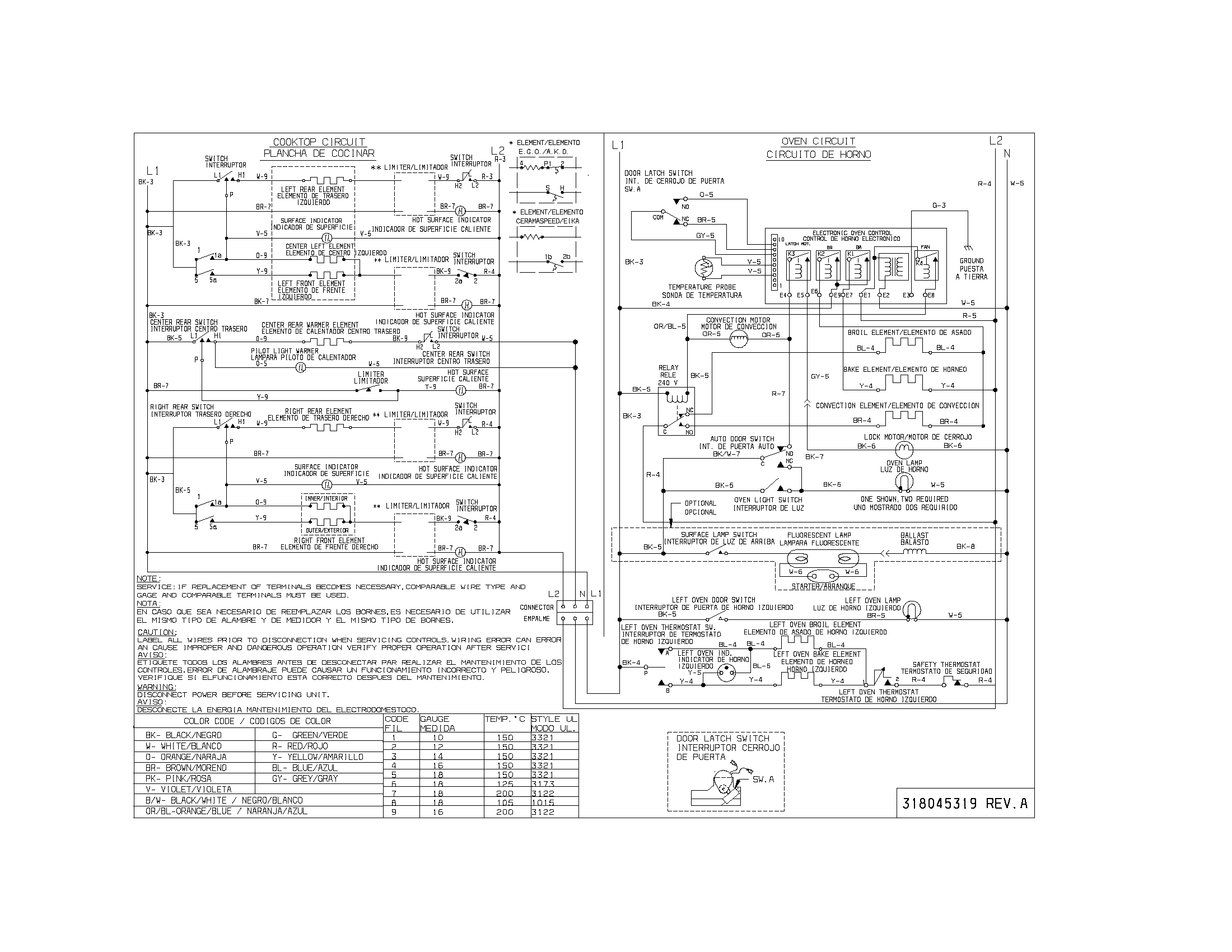 wiring diagram parts kenmore 79099503993 elite electric range timer stove clocks and Thermador Cooktop Wiring-Diagram at edmiracle.co