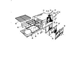 88370 Range Oven Parts diagram